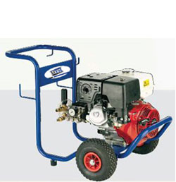 Mobile jet pressure washers