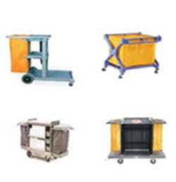 Rubbermaid Janitor Cart